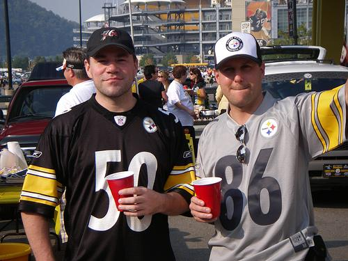 Even Pittsburgh Steelers tailgaters say the region is coming back.