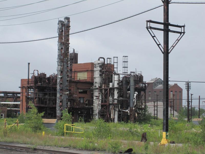 Image of the Bethlehem Steel plant in Lackawanna.