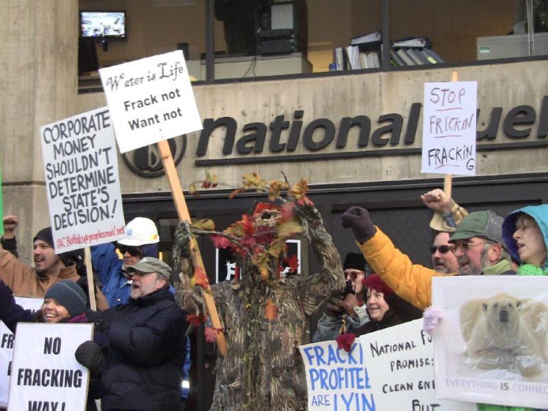 Buffalo fracking protest