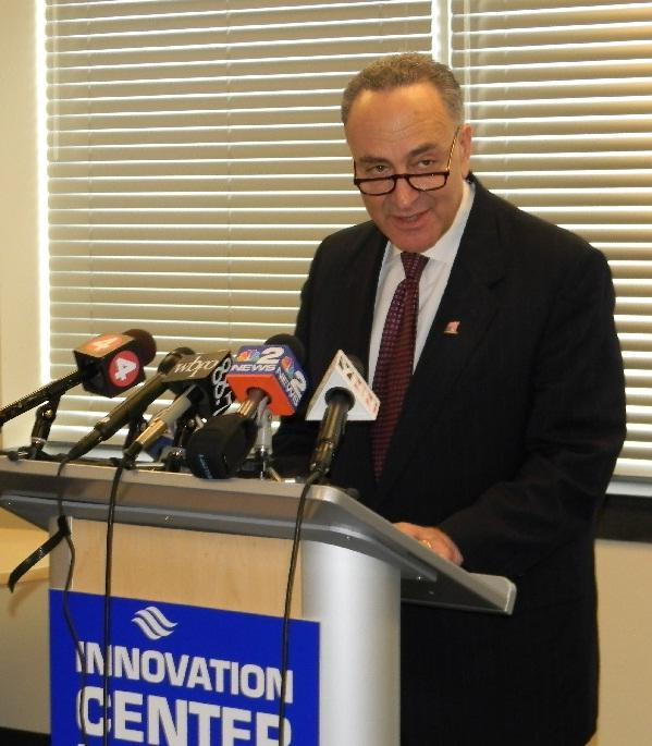 Handily re-elected last November, Sen. Chuck Schumer is one of a handful of politicians willing to proclaim their enthusiastic support for earmarks.