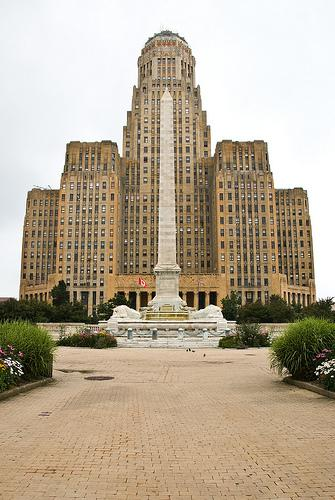Buffalo's city council is the first in the state to ban hydrofracking.