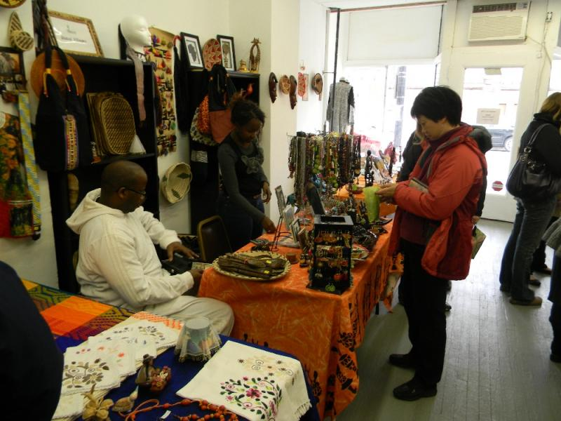Located along a busy retail corridor, the West Side Bazaar is hoping to entice shoppers with handmade products.
