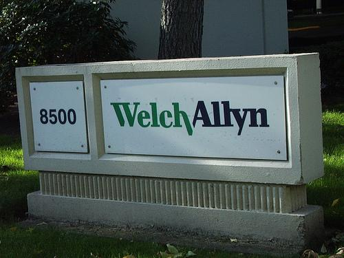 The CEO of medical device maker Welch Allyn is going into economic development.