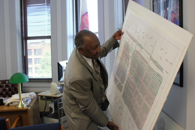 Syracuse Common Councillor Van Robinson has become a leading voice for tearing down I-81.