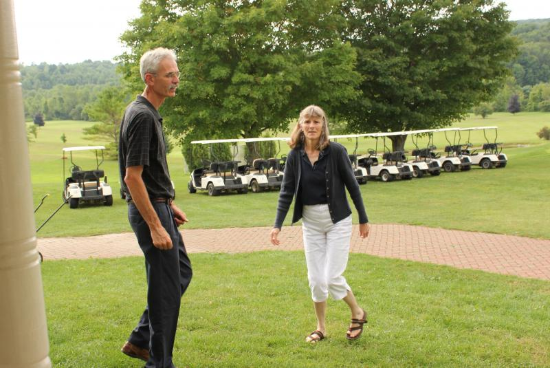 "Mike and Velda Ward are worried they will be compelled to accept underground gas wells beneath their property. The number of landowners forced to ""integrate compulsorily"" by the state is expected to rise if fracking moves forward in New York State."