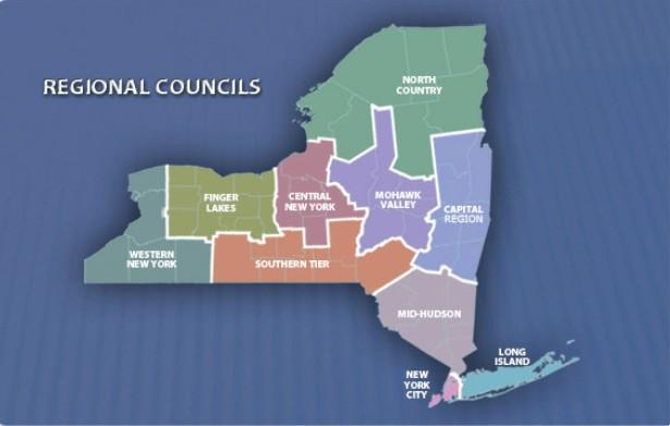 The governor's regional economic development councils will again bid for more than three-quarters of a billion dollars in aid.