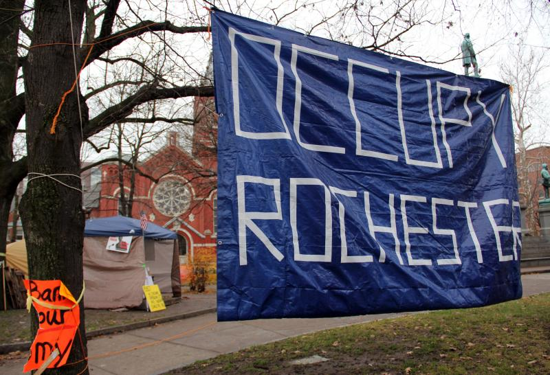 Occupy Rochester has struck a deal with the city that lets it maintain a 24-hour outdoor presence until at least January 12.