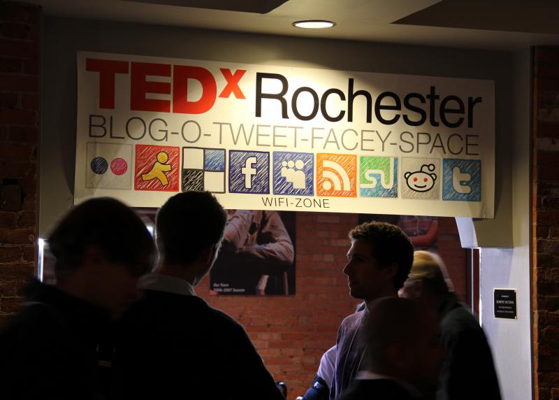 The Innovation Trail took its listening booth to TEDxRochester this year, to collect stories about what people make, and why.