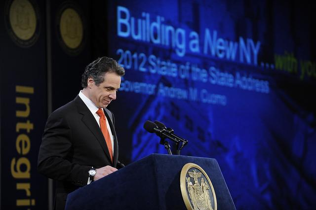 "Governor Andrew Cuomo pledged $1 billion to attract ""national and global industries"" to Buffalo during Wednesday's State of the State."