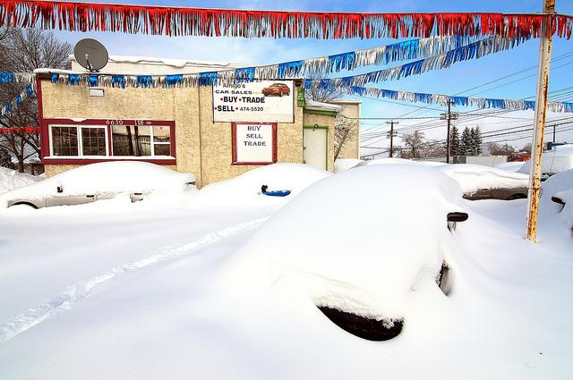 Snow melting signals the start of the busy season for auto dealers. This year a good product and revived auto industry have them more optimistic.