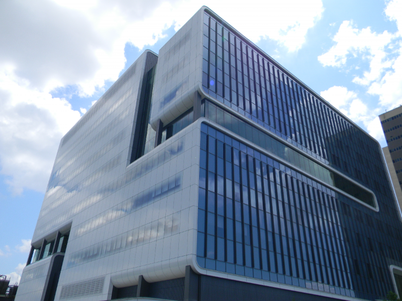 The 10-story Gates Vascular Institute/Clinical and Translational Research Center opened Thursday in Buffalo.