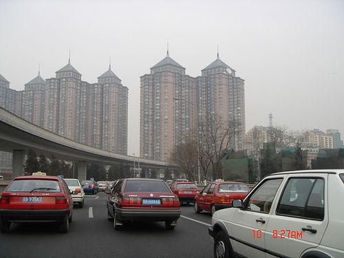 During the 2008 Summer Olympics Beijing cut its traffic in half.