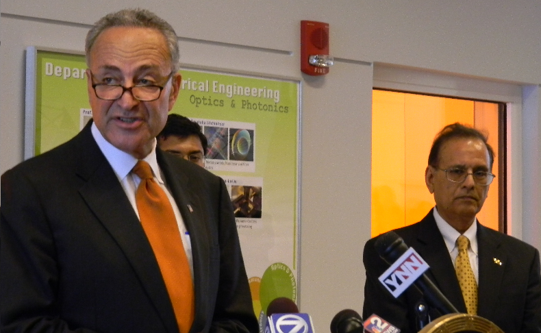 Before the end of the year, SUNY Buffalo will know if a $120 million grant from the Department of Energy can be used to build the new Center of Excellence in Materials Informatics. The lobbying effort is led by Sen. Chuck Schumer (D-NY).