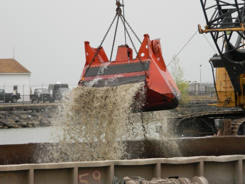 Over the next three years, a clamshell will scrape the bottom of the Buffalo River, scooping out contaminants  from the city's industrial days.