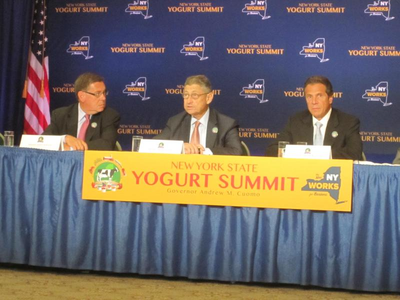 Head table at the Yogurt Summit