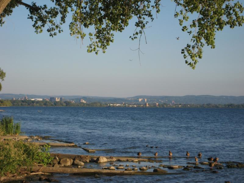 Honeywell is beginning a multi-year dredging operation on Onondaga Lake to remove chemical contaminants.