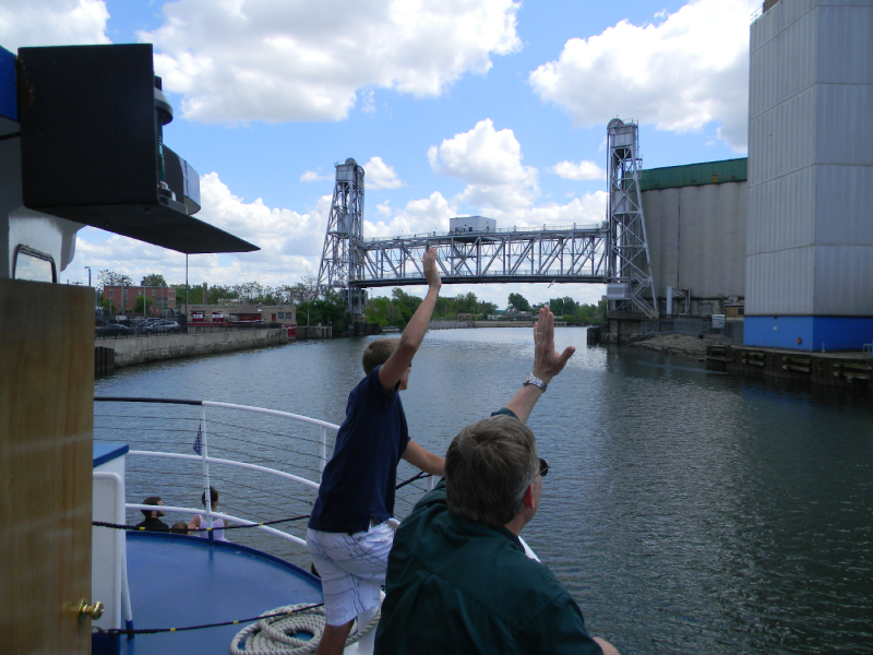 Cleaning the Buffalo River will increase options for recreation, say state and local officials. Commercial and residential development has also been bandied as a possibility for the river's banks.