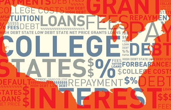 Average debt for college grads rises 5 percent the study says.
