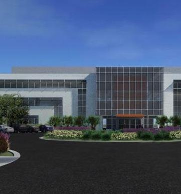 Artist rendering of Global Foundries proposed campus expansion in Malta, New York