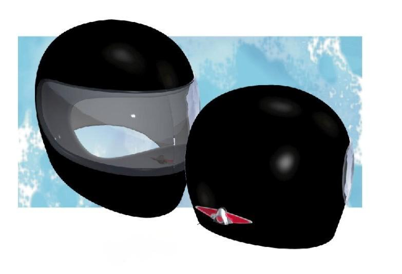 Introducing Helios, the helmet for visibility