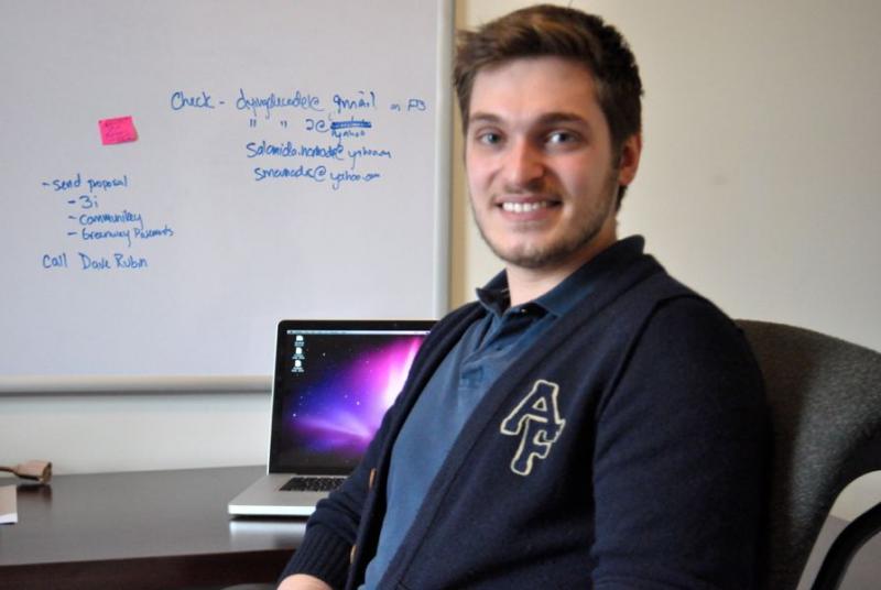 Chris Olsen is a Binghamton-based entrepreneur and a mentor at Startup Weekend.