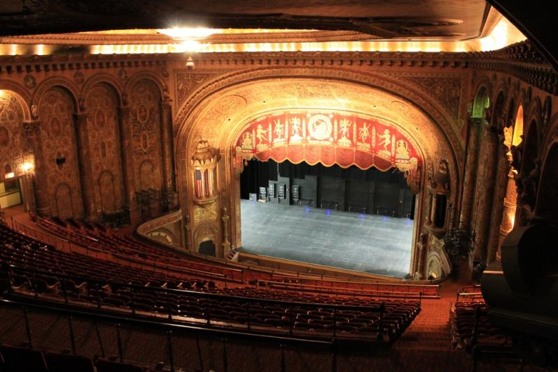 The Landmark Theatre opened in 1928, with seating for just under 3,000 people, as a silent movie theater. It was first known at Loew's State's Theatre.