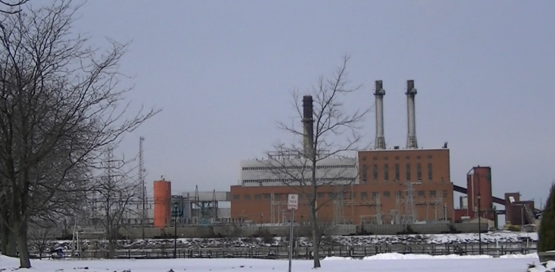 NRG's power plant in Dunkirk, N.Y. is one of many coal-fired plants facing an uncertain future.
