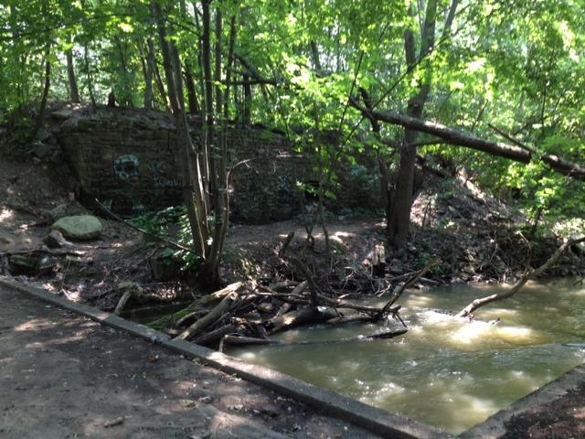 Eighteenmile Creek is contaminated with former industrial materials.