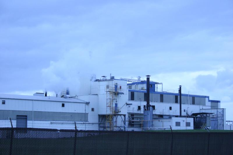 Goodyear's chemical factory in Niagara Falls as seen in 2013.