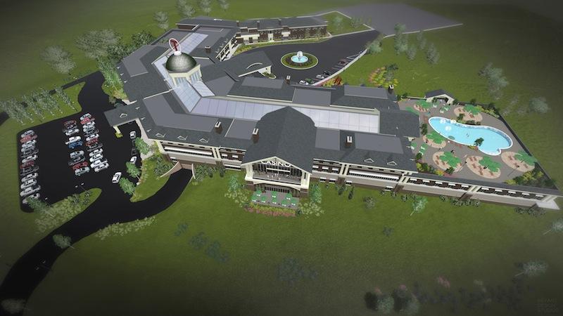 PHOTO: Proposed casino in Johnson City
