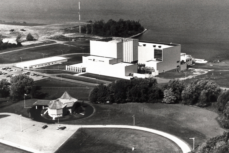Ginna nuclear power plant in Ontario, Wayne County