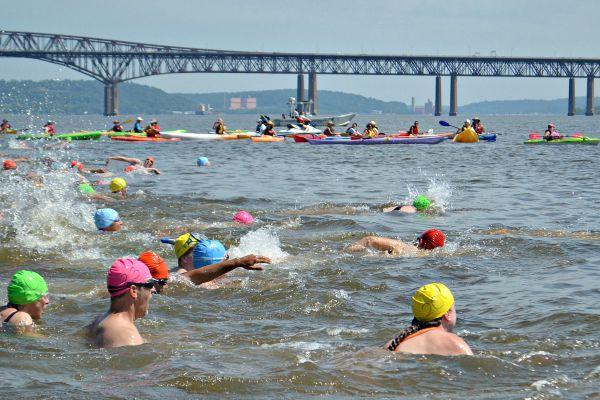 Swimming Pool Water Contamination : River swim draws attention to fecal contamination in