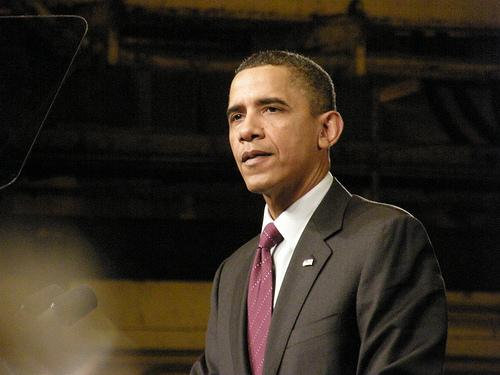 President Obama during a visit to Schenectady in Jan. 2011.