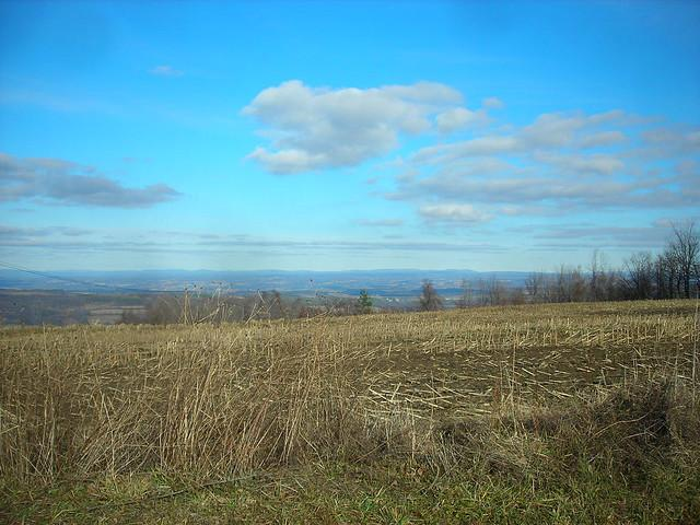 A view of Herkimer County. Litchfield is located in the southwest corner of the county. Some residents don't want views like this obstructed by wind turbines.