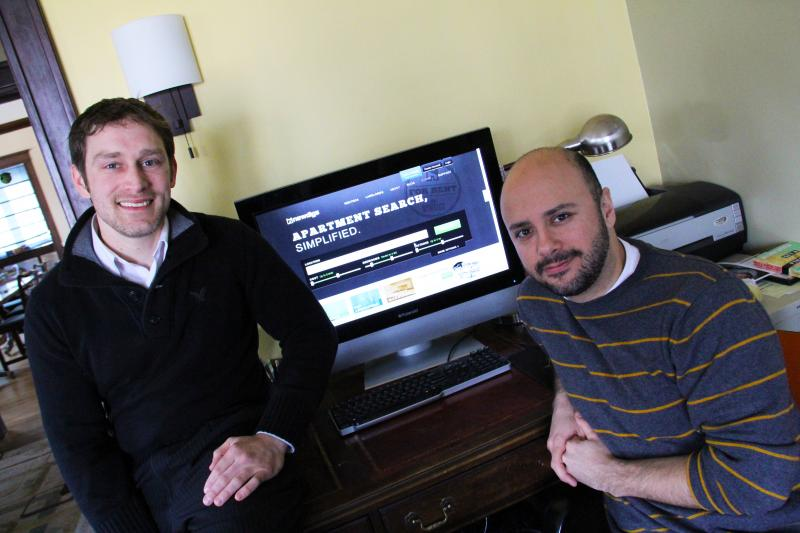 Ben Munson, left, and Daniel Mooney. The co-founders of Newdigs.com are gearing up for a national rollout this Summer.