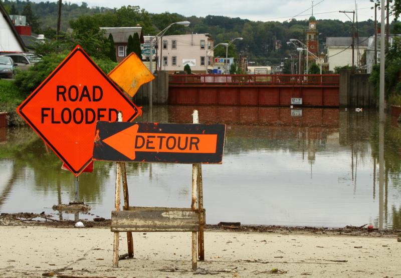 The town of Owego saw heavy flooding last fall. A new round of funding for flood control projects is largely bypassing the town, however.