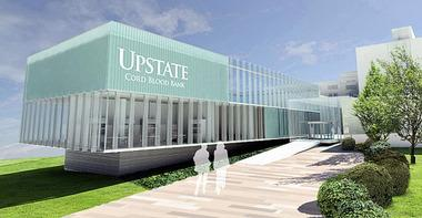Artists rendering of the Upstate Cord Blood Bank in Onondaga
