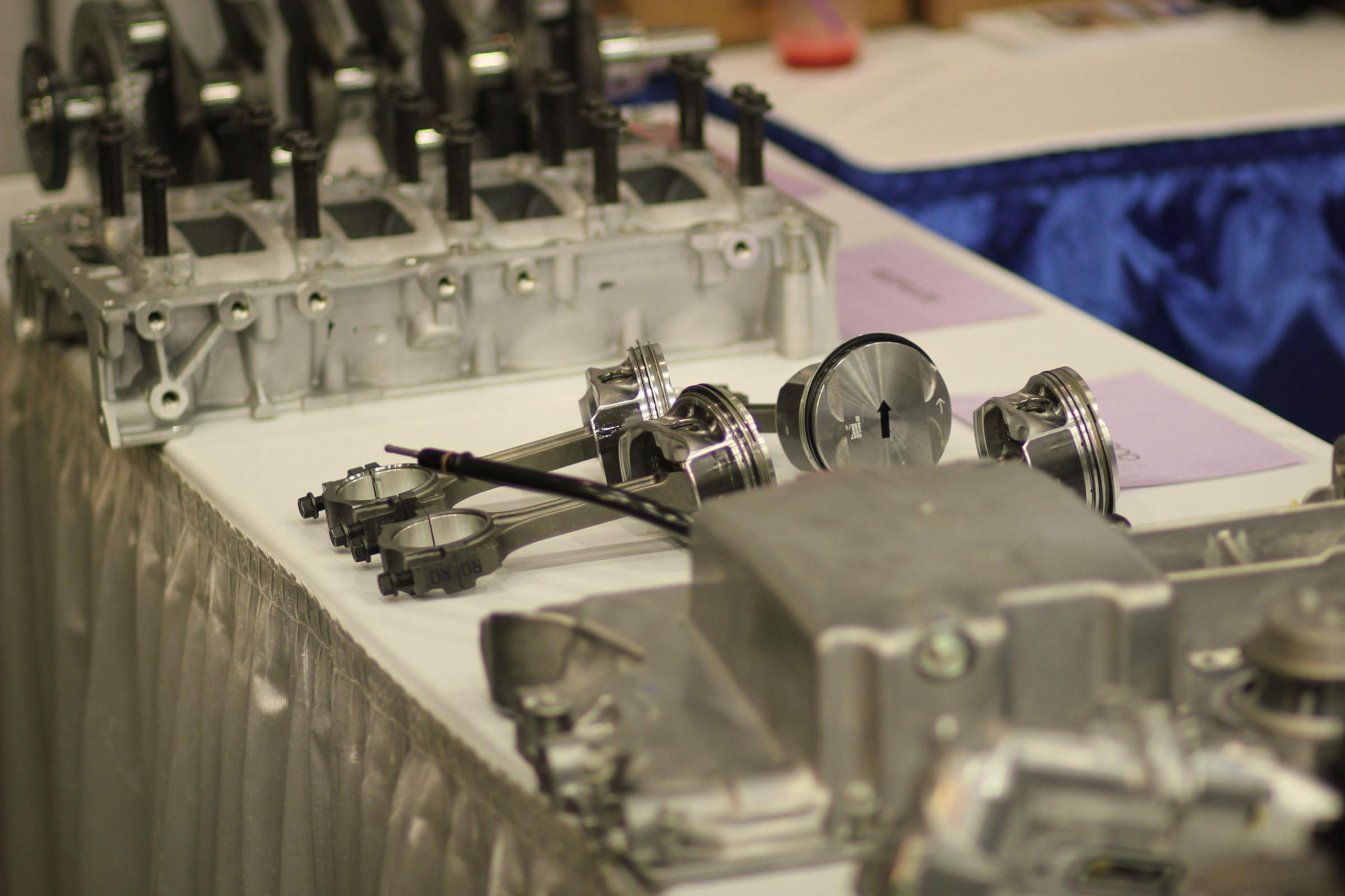 Buffalo Auto Show Highlights Local Wheels Innovation Trail Gm Ecotec Engine Pieces Of A New Which The Tonawanda Plant Will Build