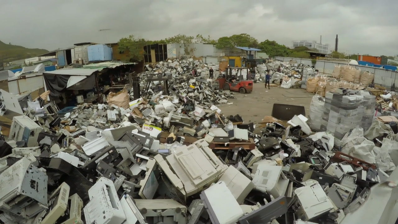Investigation Tracks E Waste From Us To Unregulated Scrapyards In Recycle Circuit Boards Concept Of Electronic Junk Hong Kong