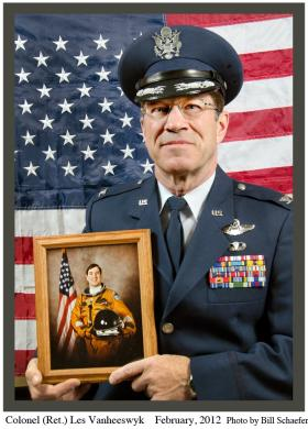 Retired Col. Les Vanheeswyk of Osceola piloted a U2 spy plane during the Cold War