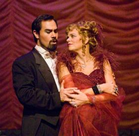 Scene from CROT's 2012 production of The Merry Widow