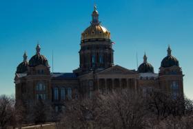 The Iowa Capitol 4/1/13