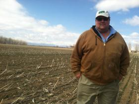 Fourth-generation farmer Kent Peppler will have a hard time securing irrigation water this year. The ongoing drought has forced cities to hold on to their supplies, which means Peppler will have to fallow some of his fields in Mead, Colo.