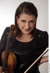 Guest violinist Nadja Salerno-Sonnenberg