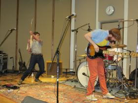 Dylan Sires and Neighbors perform in IPR's Studio One as part of the  80/35 Play In semi final round.