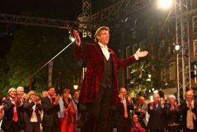 The great American baritone Thomas Hampson