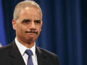 U.S. Attorney General Eric Holder at a news conference Tuesday, May 14, 2013