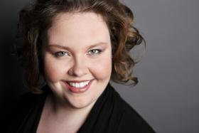 American mezzo-soprano Jamie Barton, who yesterday was crowned BBC Cardiff Singer of the World. Congratulations, Jamie!