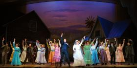 "John Cudia, Ashley Brown and cast in the Lyric Opera of Chicago's ""Oklahoma"""