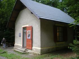 Mahler's composition hut on the shores of Lake Worth in the Austrian alps, where he composed his Seventh Symphony.